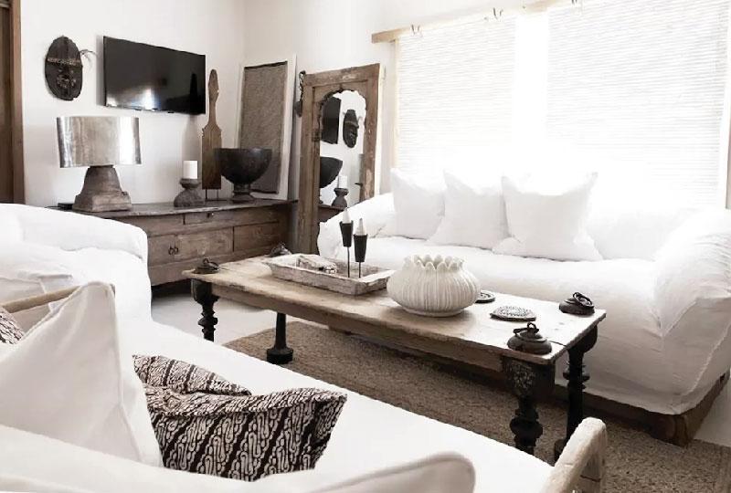 Casa vacanze australiana in stile etnico chic blog di arredamento e interni dettagli home decor - Stile etnico casa ...