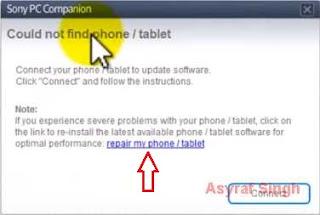 Repair my phone/tablet