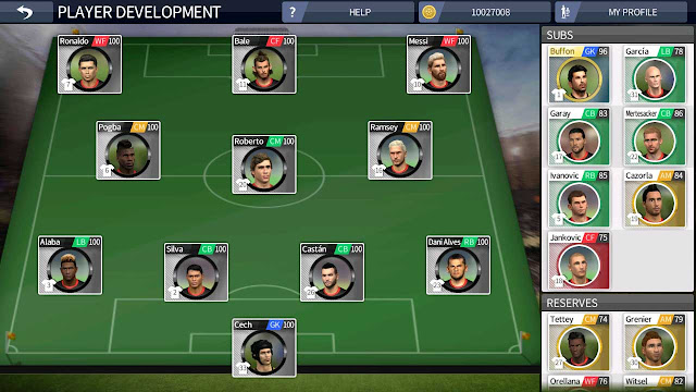 cheat dream league soccer player development