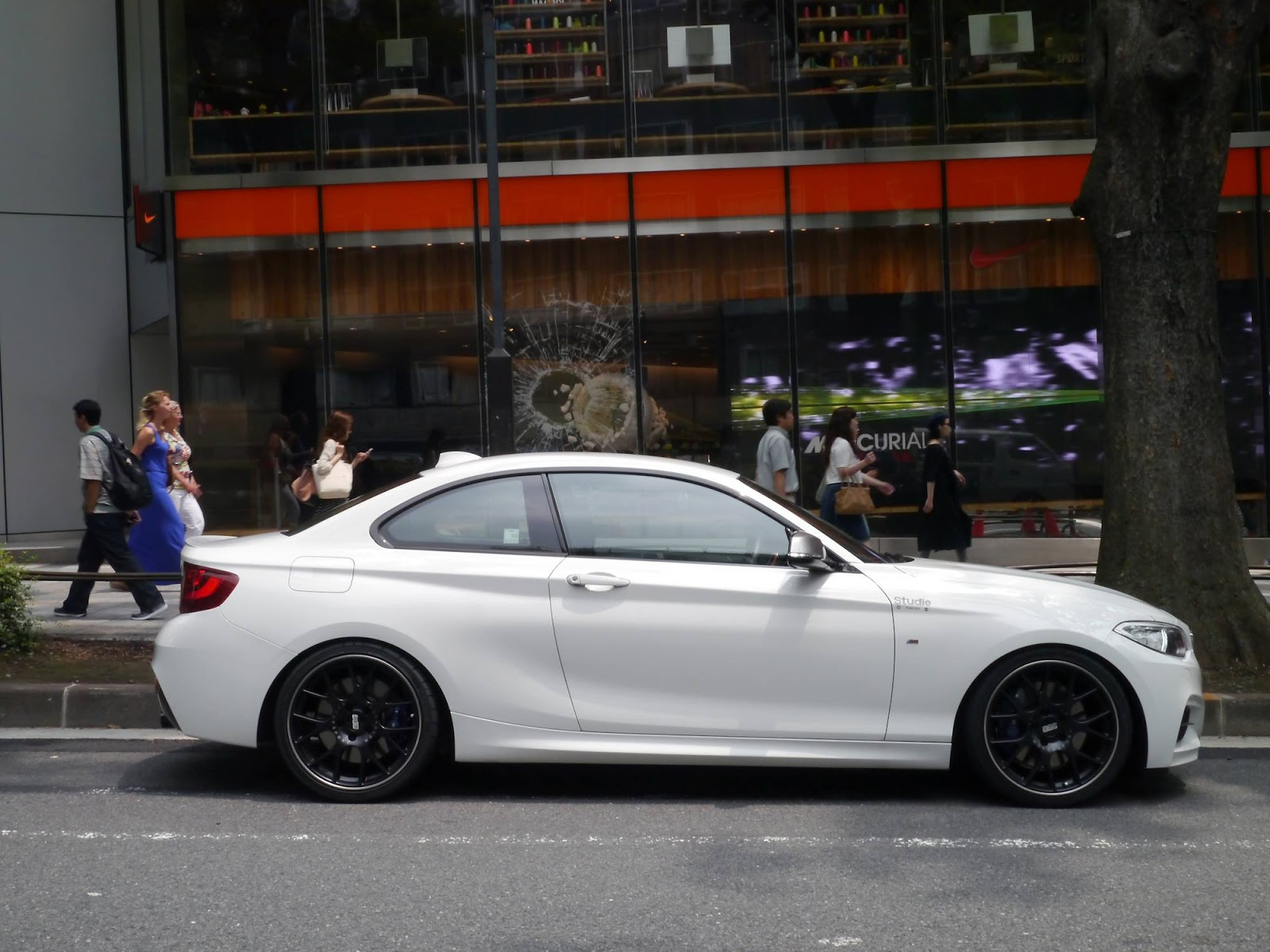 Bmw M235i With E46 M3 Csl Wheels Looks Pretty Kewl Don T