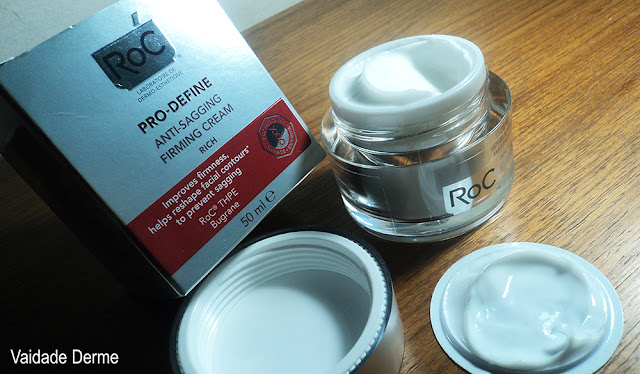 Roc Pro Define Creme Antiflacidez