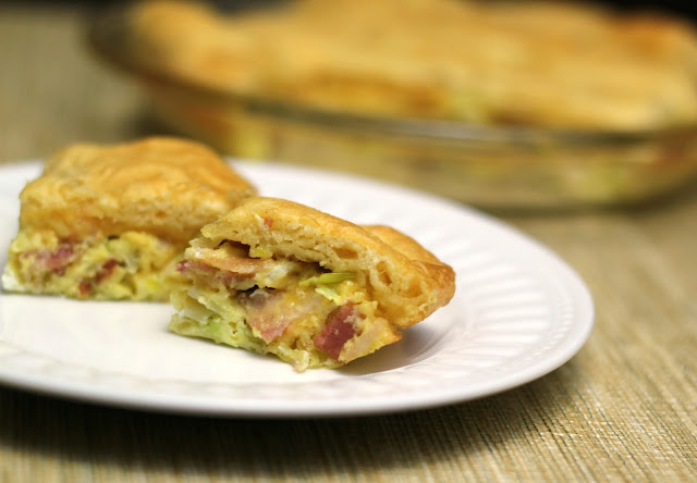 This party dish takes on Danish flavors and is simple to create for guests. Try our Flaky Bacon Leek Party Quiche with tasty Pillsbury Crescent Rolls!