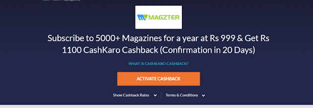 Magzter Offer Page