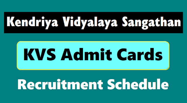 kvs officers, librarians, non teaching staff admit cards 2018, kvs recruitment exam schedule,kvs admit cards,kvs officers, librarians, non teaching staff results,kendriya vidyalaya sangathan results