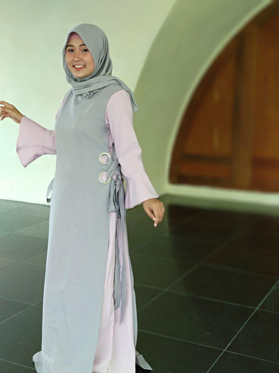 SABRINA DRESS FROM ANTIIQA HIJAB - AYU INDAH
