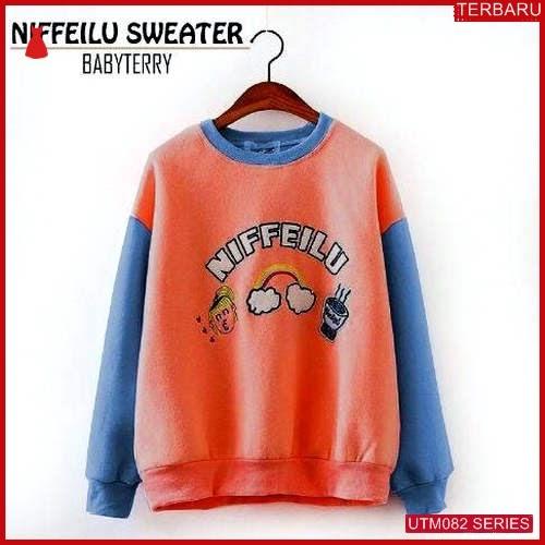 UTM082N47 Baju Niffeilu Muslim Sweater UTM082N47 052 | Terbaru BMGShop