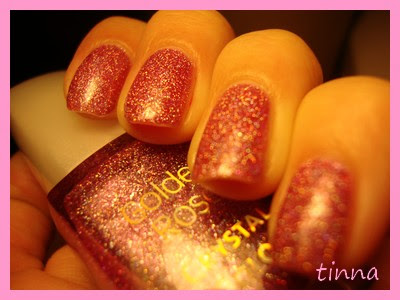 GOLDEN ROSE CRYSTAL COLOR 12