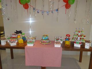 Aniversário - Mario Kart