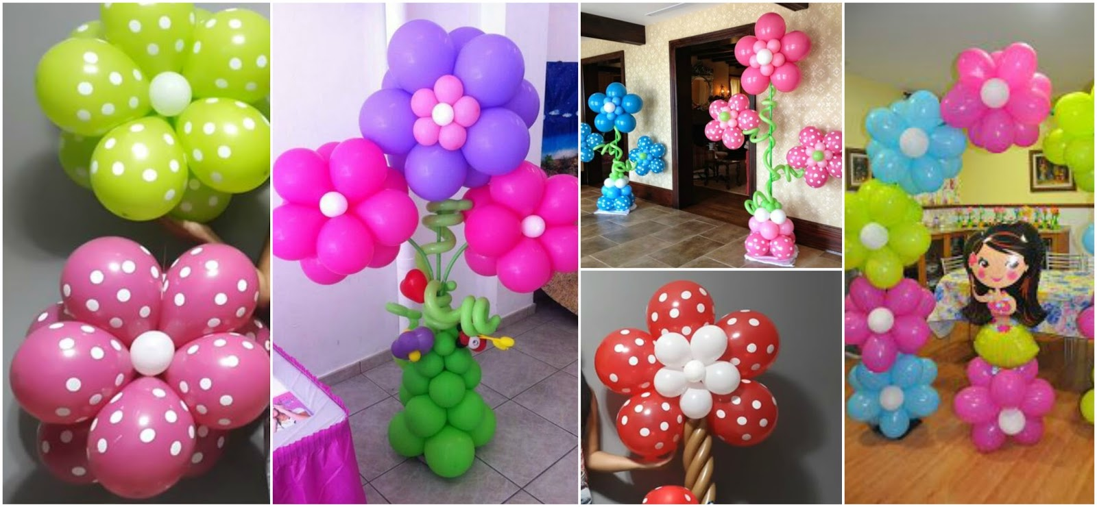 Aprende c mo decorar tus cumplea os con flores de globos - Como hacer decoracion de cumpleanos ...