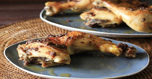 Garlic Roasted Chicken Leg Quarters Recipe