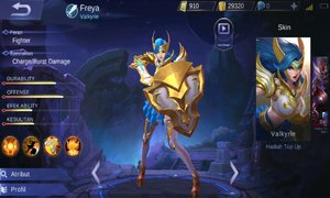 Set Build Item Emblem, Ability, Gear Freya Terbaik