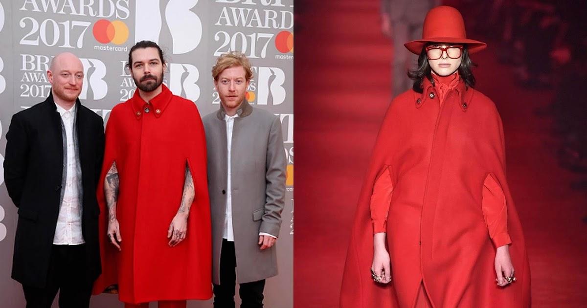 Simon Neill En Gucci The Brit Awards 2017 Male Fashion