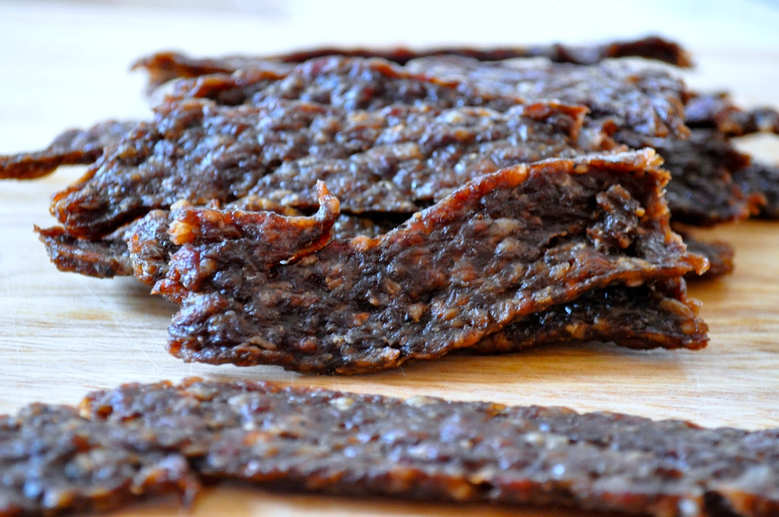 Spicy Ground Beef Jerky Recipe