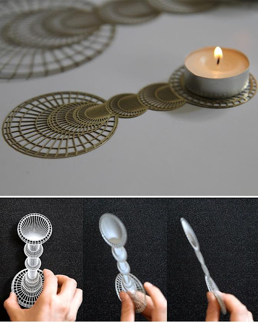 Flatlight Candle Holder
