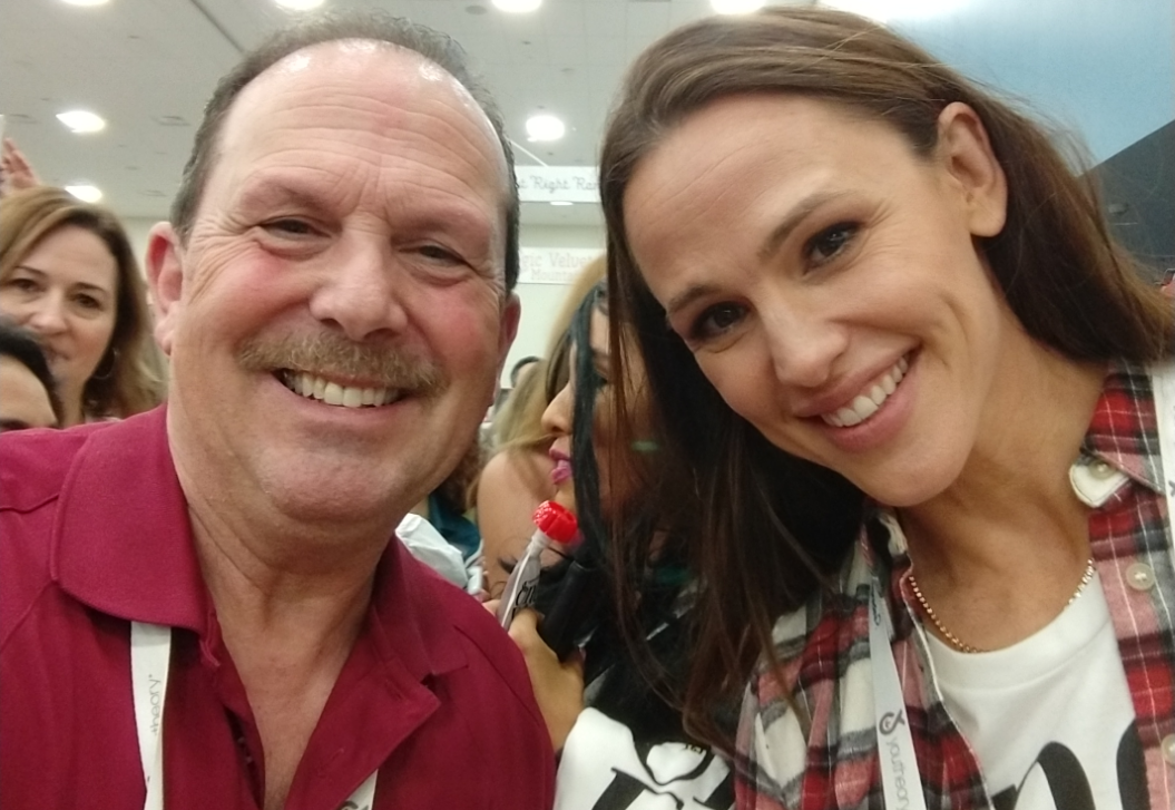 Pete Ellis & Jennifer Garner,Co-founder of Once Upon a Farm at #ExpoWest 2018