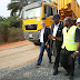 Photogist: Fashola Visits South East To Inspect Ongoing Road Project
