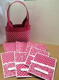 Gift bag with card and envelope zena kennedy independent stampin up demonstrator