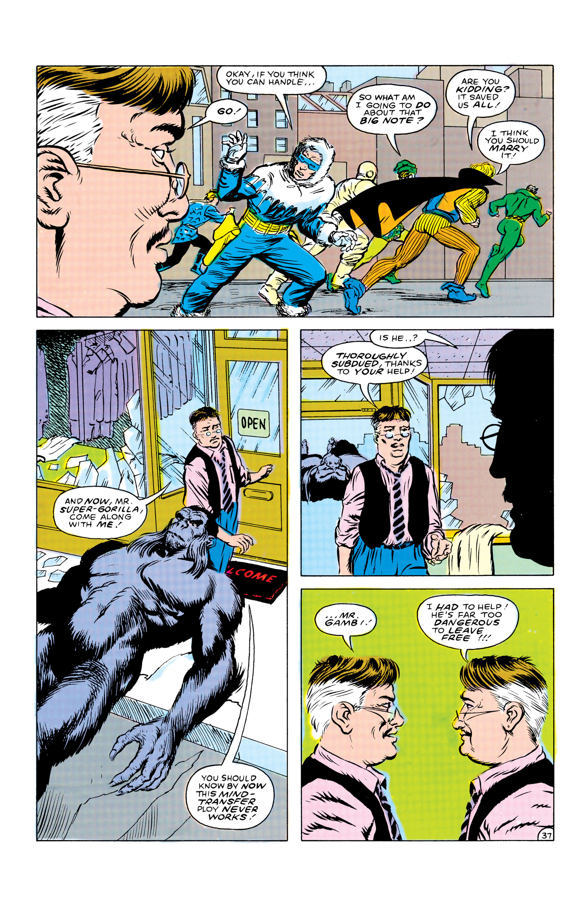 Read online Secret Origins (1986) comic -  Issue #41 - 38
