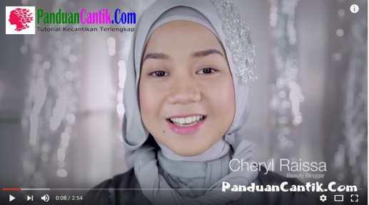 Video Tutorial Cara Memakai Eyeliner Cair Gel Wardah Ala Cheryl Raissa Blogger KEcantikan Untuk Sehari Hari