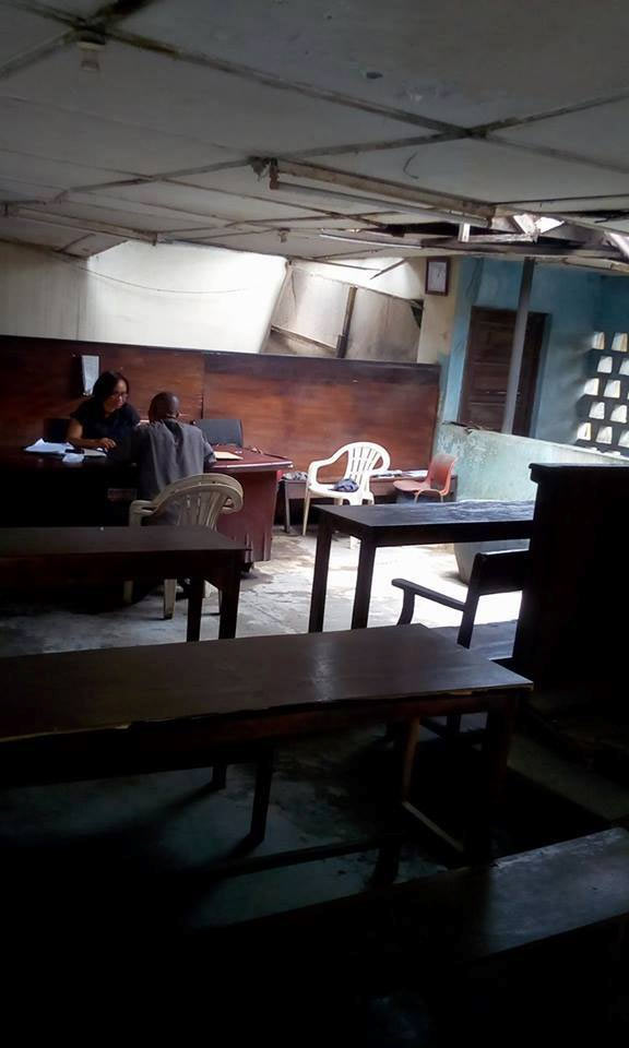See the shocking state of Magistrates Court in Aba, Abia State