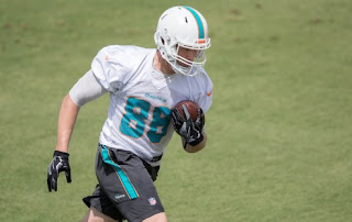 Fantasy Football Rookie Draft Dolphins TE Mike Gesicki