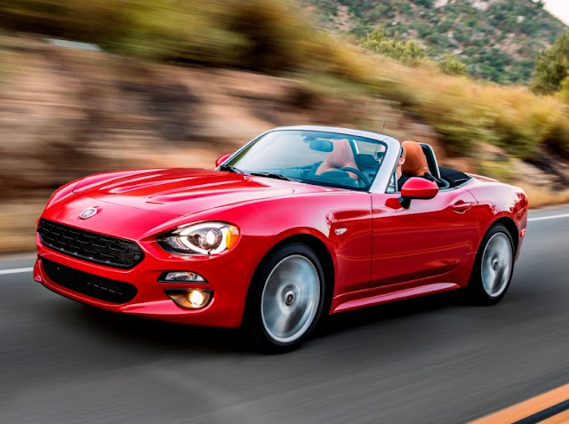 2017 Fiat 124 Spider Manual REVIEWS