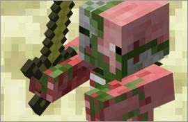 Minecraft Zombie Pigman Figures