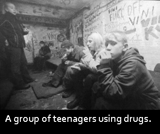 essay on drug menace