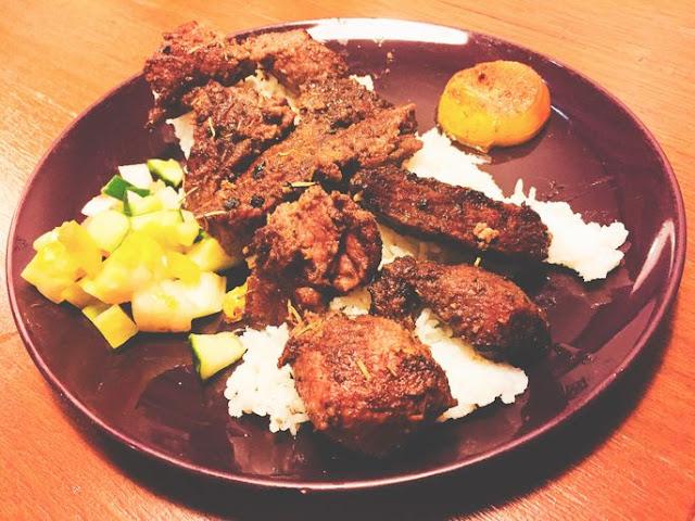 Beef Keema at Sultan Mediterranean Grill