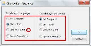 Windows 7 enable Hindi change language switch rajbhasha.net