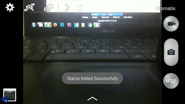 Tutorial Menampilkan Shot On Vivo V9 di Kamera Android (Watermark) 6