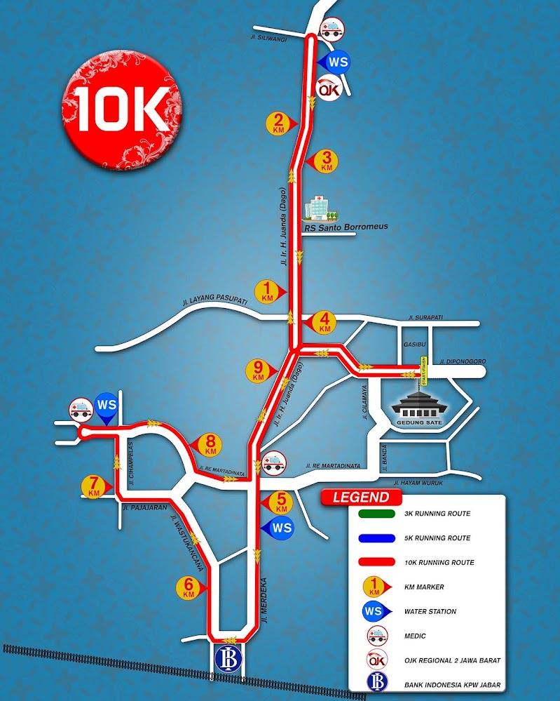 10K Bandung Edu Fin Run • 2019