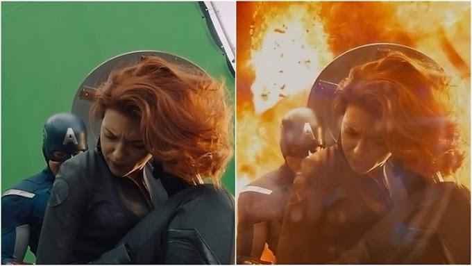 Como são os filmes antes de adicionar os efeitos especiais.