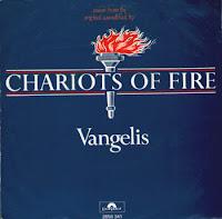 Carros de fuego (Chariots of Fire), portada del disco de Vangelis