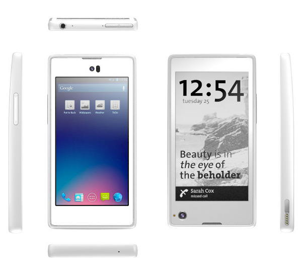 Yotaphone - smartfon z dwoma ekranami