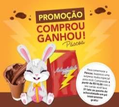 Promoção Rede Uze Cartões Páscoa 2018 Comprou Ganhou Achocolatado Em Pó