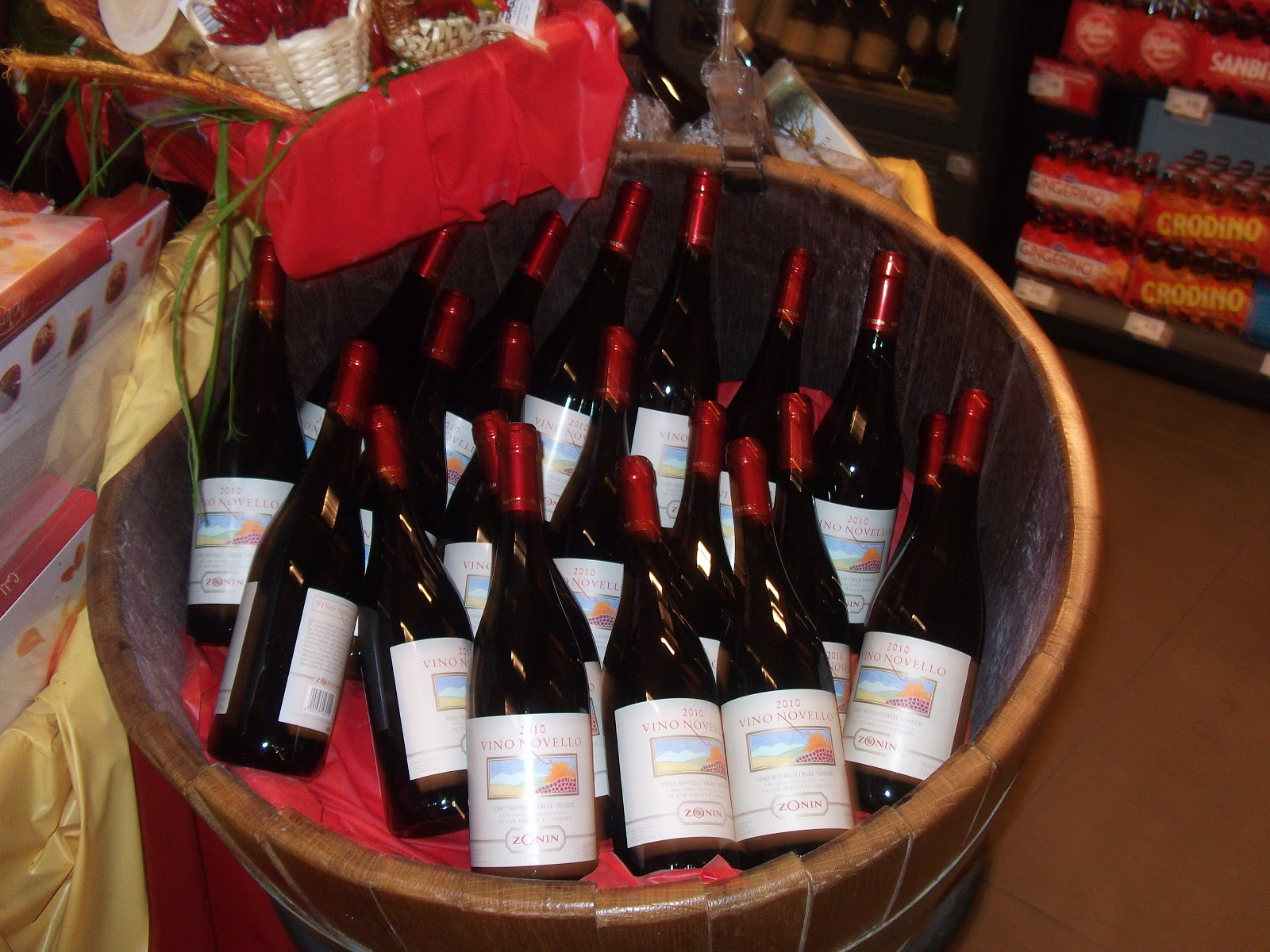 Vino Novello on sale in Padova