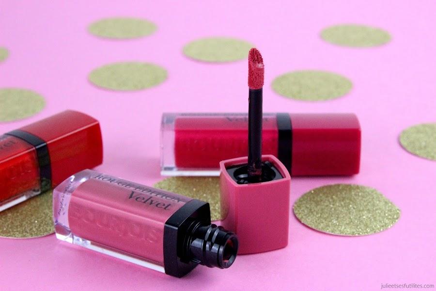 Les rouges à lèvres Rouge Edition Velvet de Bourjois ! julieetsesfutilites.com
