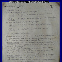Photoelectric Effect Notes for School Class 12