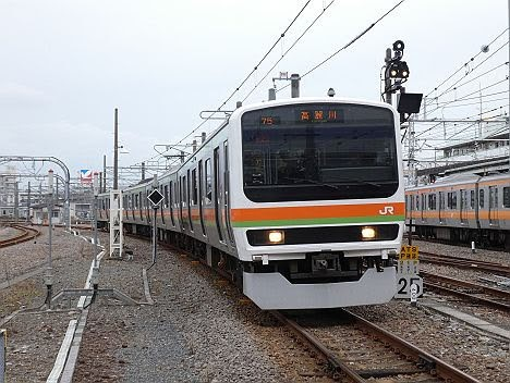 八高線 高麗川行き4 209系3500番台