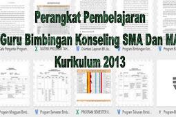 Perangkat Pembelajaran Guru Bimbingan Konseling SMA Dan MA Kurikulum 2013
