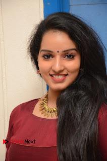 Actress Malavika Menon Pictures in Salwar Kameez at Love K Run Platinum Disc Function  0077.JPG