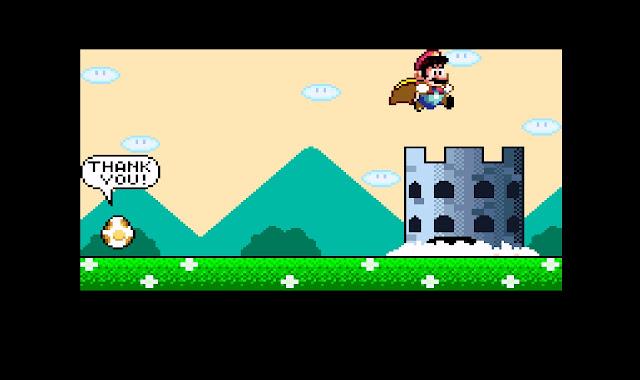 Segundo castelo finalizado Super Mario World