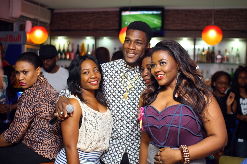 PICTURES: HENNESSY HOSTS BURNA BOY AT