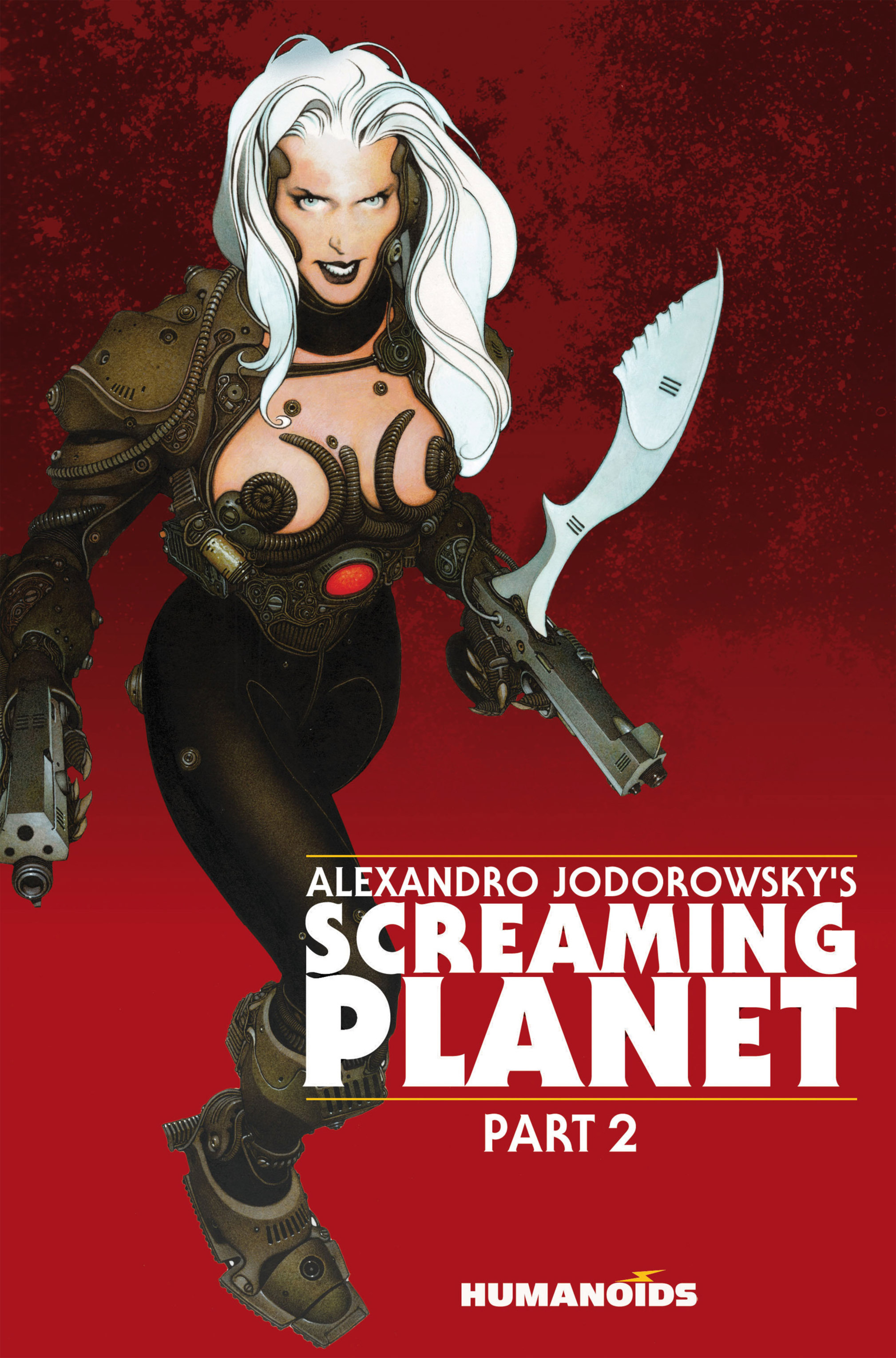 Read online Alejandro Jodorowsky's Screaming Planet comic -  Issue #2 - 1