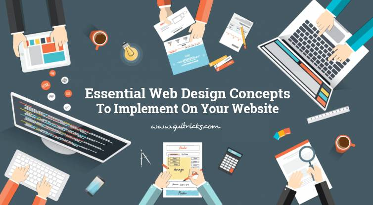 Essential Web Design Concepts To Implement On Your Website