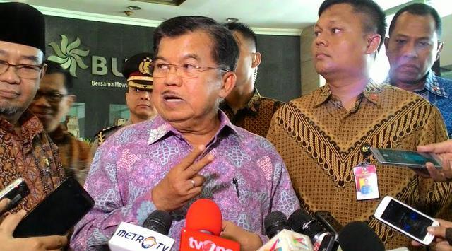 Jusuf Kalla Minta KPK Tuntaskan Kasus, Dugaan Suap WTP Kemendes dan BPK