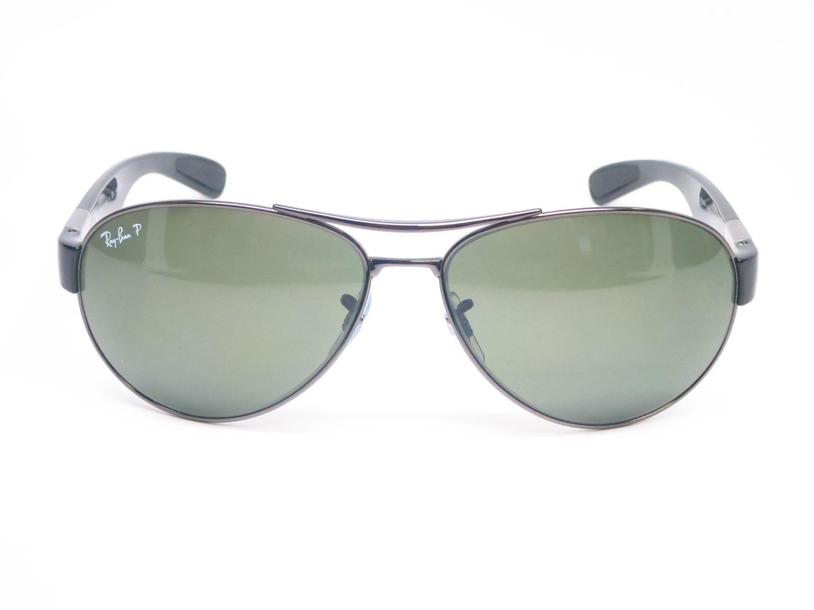 9dc8030b451 Ray-Ban RB 3509 004 9A Gunmetal Polarized Sunglasses