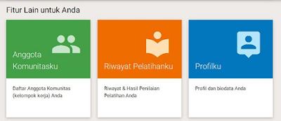 Fitur Website Guru Pembelajar Online