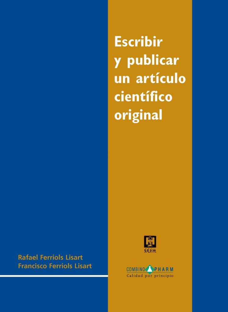 Escribir y publicar un artículo científico original